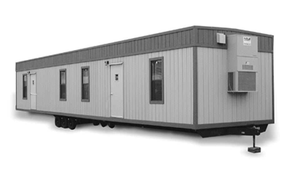 Mobile Field Office Trailer